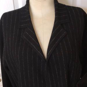 New CARLISLE size L merino wool cardigan /jacket.